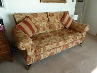 Sofa by PARKER KNOLL less than Two years old in excellent condition. It is a 3 seat sofa 200cm long
