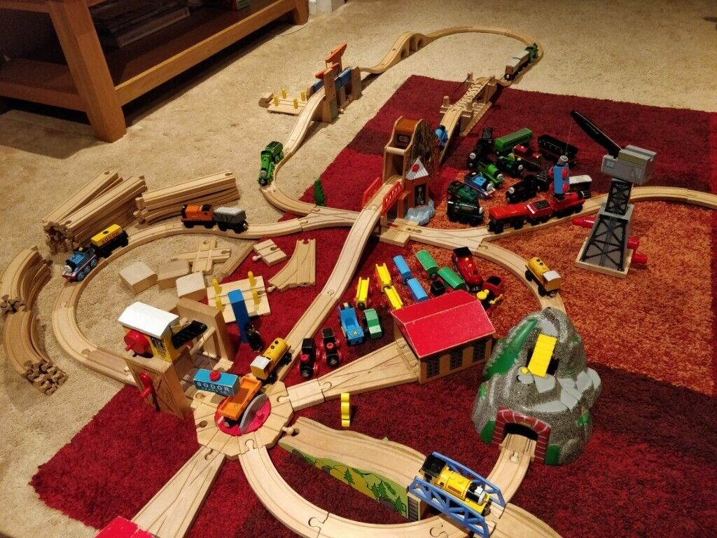 Thomas The Tank Engine Wooden Railway Set And Accessories In Old Windsor Berkshire Gumtree