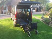 Renault kangoo with wheelchair conversion