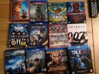 Blu-rays &dvd various prices.