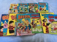 Various Beano,Dandy and Dennis the Menace books