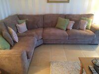 Ashley Manor Corner Sofa. Like new - only 6 mths old