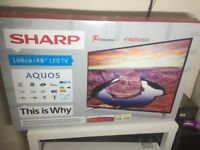 "NEW-BOXED, 40""SHARP LED FULL HD1080P+FREEVEIW TV"
