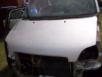 Vauxhall Agila 1.2, 2001 Silver Metallic Bonnet