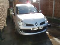 Renault Clio 2007 Only 37,500 Miles, 12 Months MOT Very Good Condition 1.6VVT