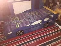 Kids Car Bed and Mattress