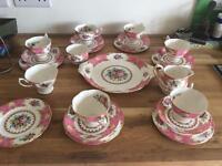 Lady Carlysle royal Albert tea set