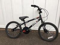 Child's bike Hood Alley from Halfords 18 inch wheel (suit 5-7 year old?)