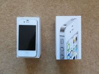 APPLE IPHONE 4S 16GB WHITE UNLOCKED SMARTPHONE AND ACCESSORIES