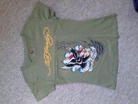 Ed Hardy t shirt size medium