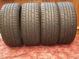 four tyres
