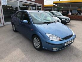 2002 FORD FOCUS 1.8 TDCI GHIA SALOON- GREAT M.P.G-FEBUARY 2019 MOT TEST