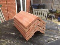 Clay Angular Ridge Tile