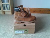 Timberland 6 inch Premium Classic Ladies Boots - UK Size 4.5