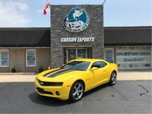 2010 Chevrolet Camaro CLEAN  LOW KM RS! FINANCING AVAILABLE!