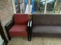 2 double seater