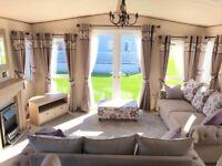 Brand new huge static caravan - lakes/golf/pet friendly/luxury leisure park/entertainment/2.3k fees