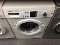 BOSCH 8KG 1200 SPIN A+++ WASHING MACHINE WHITE RECONDITIONED