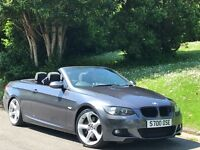 BMW 3 SERIES 3.0 330i M Sport 2dr long mot full service history private plate included cheap car
