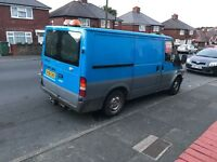 2006 ford transit SWB with twin side loading door