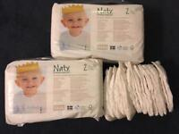 Biodegradable Naty nappies size 2