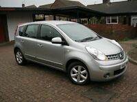 2007 Nissan Note 1.6 AUTOMATIC, Mot Feb 17. £999. (PLS NO TXTS)