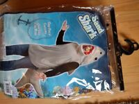 Sand Shark Costume, as new, from Amazon, not needed, still in package