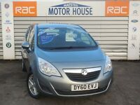Vauxhall Meriva (EXCLUSIV) FREE MOT'S AS LONG AS YOU OWN THE CAR!!! (silver) 2010