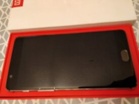 OnePlus 3, Sim Free, Mint Condition, Graphite