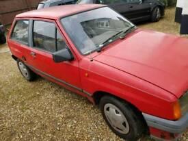 Vauxhall Nova mk1 1.4 *38k from new*