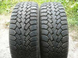 Two 225-60-16 snow tires $80.00