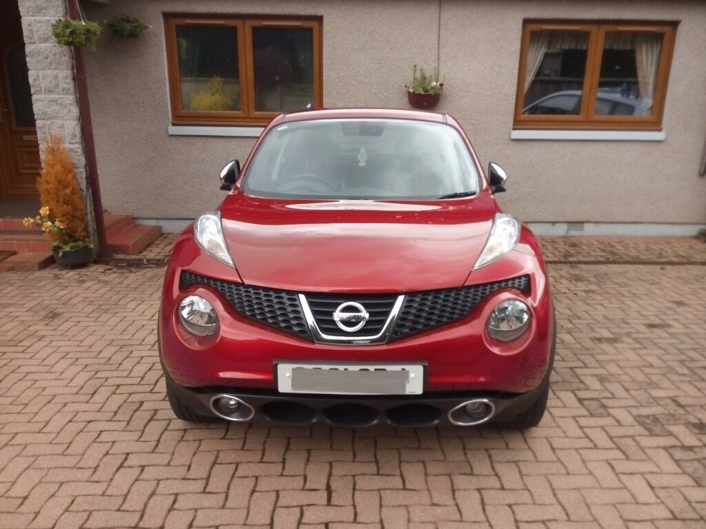 nissan juke 1 6 dig t tekna 4 x 4 great car lower than average mileage automatic in inverurie. Black Bedroom Furniture Sets. Home Design Ideas