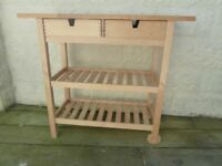 Large Solid Beech Butchers Block