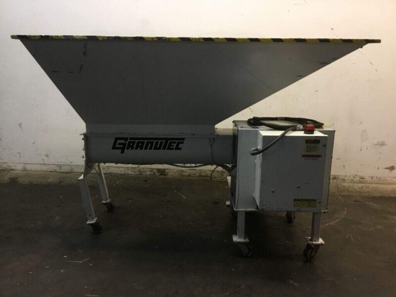Granutec 1012AM-15-10 Auger Granulator