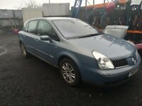 RENAULT VELSATIS 2.2DCI BREAKING FOR SPARES / PARTS