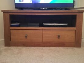 Wooden tv unit from next corner unit