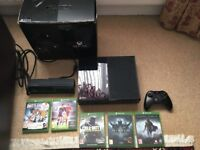 (Boxed) XBOX One 500GB with Controller, KINECT & 5 Games (CoD Infinite Warfare, FIFA 16, Diablo)..