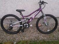 Girls Apollo Craze mountain bike