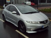 Honda Civic 1.8 i VTEC Type S GT GT i-Shift 3dr -AUTO - TOP SPEC - MUGEN - PAN ROOF *TYPR R* PX