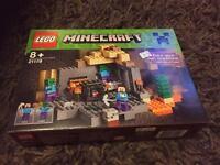 Lego minecraft brand new unopened boxed set.