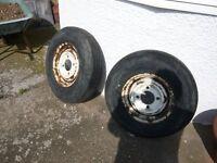 Classic caravan wheels