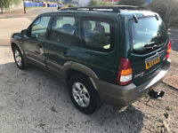 2003 Mazda Tribute V6 3.0 Automatic 4x4 Low Miles Tow Bar - Air Con - Same as the ford maverick 4wd