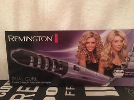 Remington dual curler
