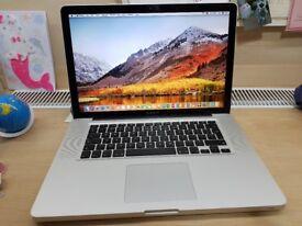 Apple MacBook Pro 15 inch Quad core i7 Dual Graphics 2012 usb3 Model