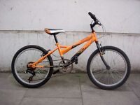 Kids Bike by Falcon, Orange & Black, 20 inch Wheels for Kids 7+ years, JUST SERVICED/ CHEAP PRICE!!!