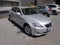 Lexus Is 250 Automatic, Top Spec, Sat Nav, Rear Cam, FDSH, 2 Keys, Keyless Entry, Warranty Mileage.