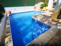 Sunny Villa with Private Pool/WiFi/ Air Con/SkyTV/ Sleeps 4/5 nr Albufeira