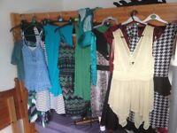Job Lot of Women's / Girls Summer Dresses/Skirts/Tops (Size 8-12).