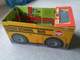 Convertible School Bus Book