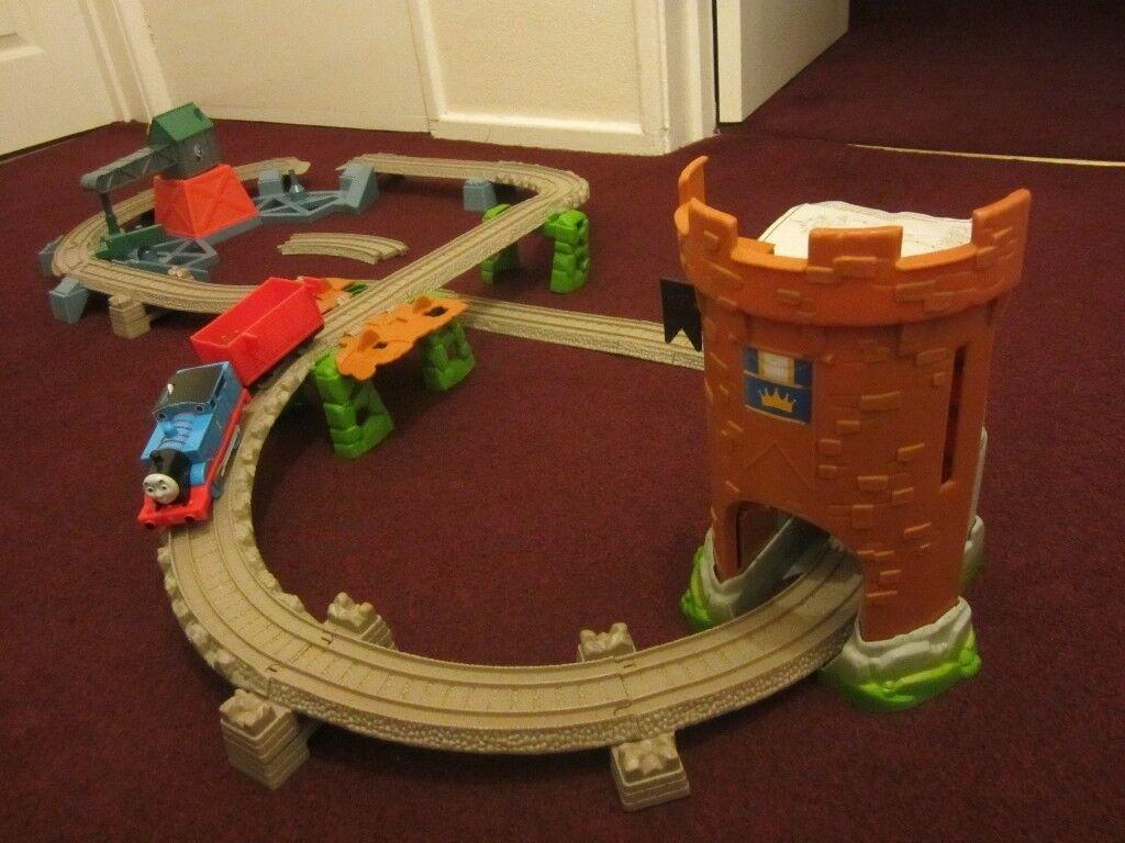 Thomas The Tank Engine Friends Trackmaster Castle Quest Set 100
